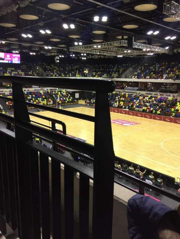 Copper Box Arena, secção: 210, fila: 12, lugar: 38