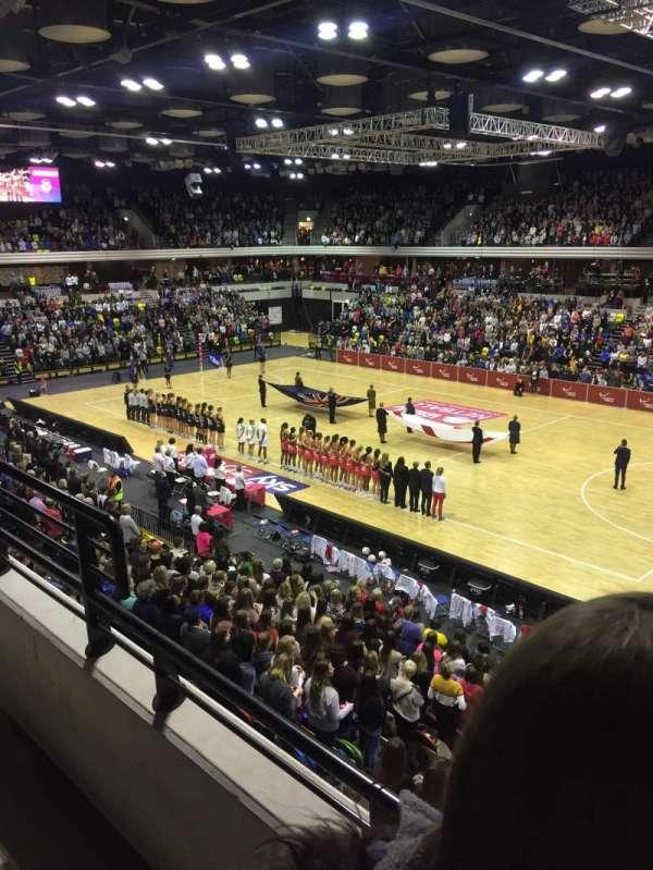 Copper Box Arena, secção: 210, fila: 12, lugar: 37