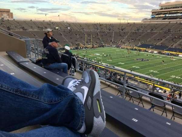 Notre Dame Stadium, secção: 125, fila: 7, lugar: 12