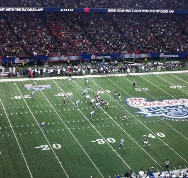 Georgia Dome, secção: 325, fila: 2, lugar: 16