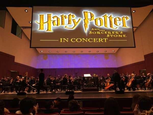 Atlanta Symphony Hall, secção: ORCHL, fila: E, lugar: 19