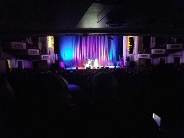 Orpheum Theatre (Boston), secção: Orchestra LC, fila: S, lugar: 115