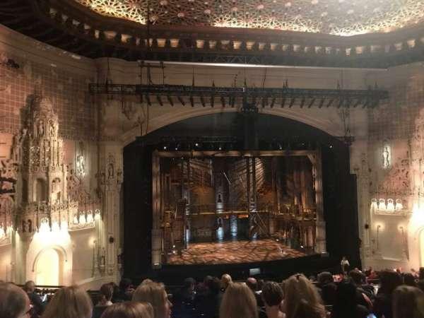 Orpheum Theatre (San Francisco), secção: Mezzanine LC, fila: K, lugar: 125