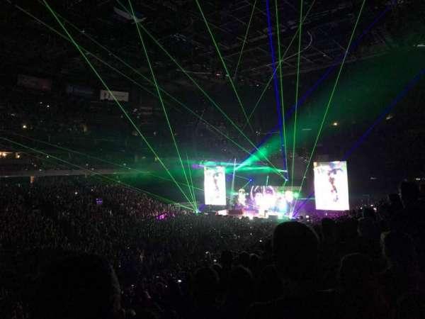 Nationwide Arena, secção: 106, fila: Y, lugar: 6