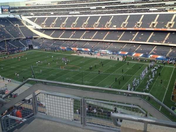 Soldier Field, secção: 432, fila: 2, lugar: 1