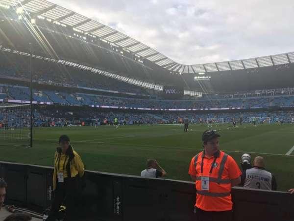 Etihad Stadium (Manchester), secção: 114, fila: 3, lugar: 361