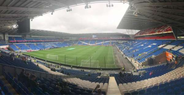 Cardiff City Stadium, secção: 122