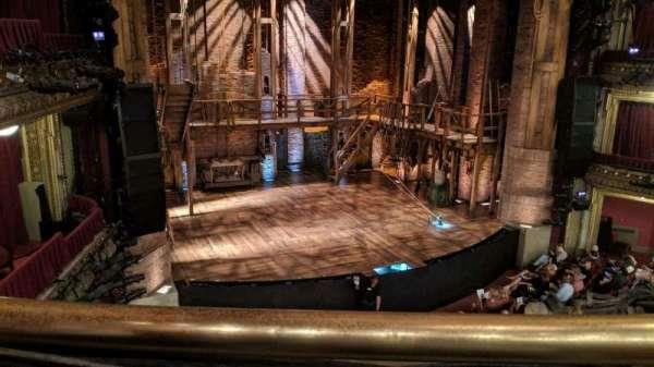 CIBC Theatre, secção: Mezzanine L, fila: A, lugar: 1