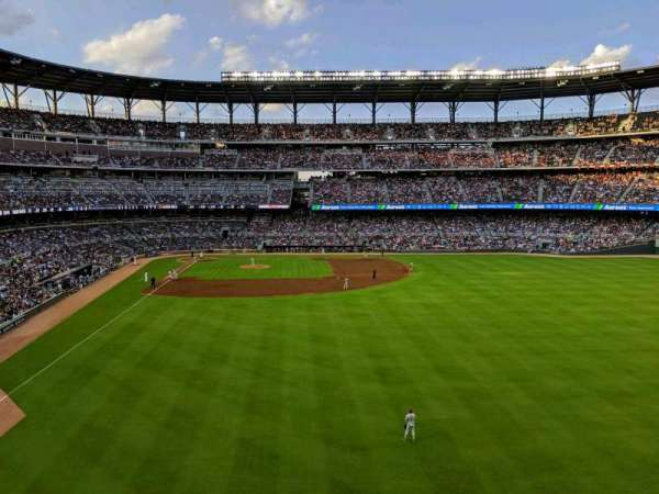 SunTrust Park, secção: Top of the Chop