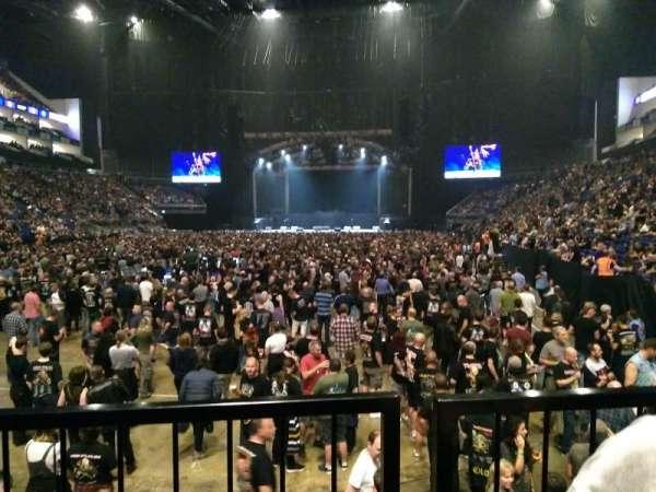 The O2 Arena, secção: 108, fila: J, lugar: 229