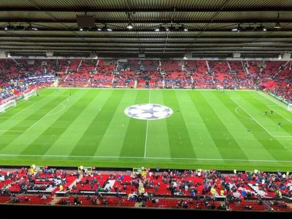 Old Trafford, secção: N4405, fila: 1, lugar: 120