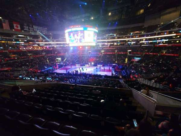 Staples Center, secção: PR13, fila: 10, lugar: 3