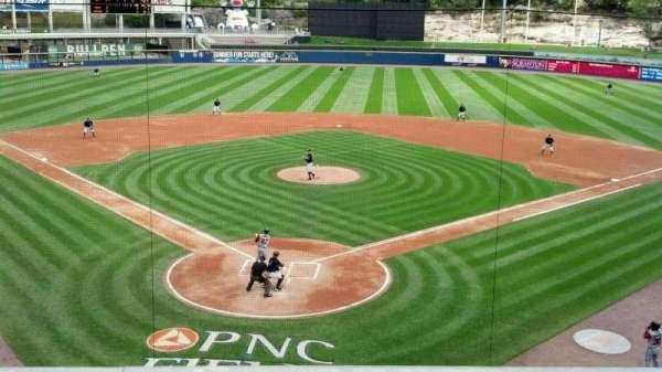 PNC Field, secção: 205, fila: 1, lugar: 8