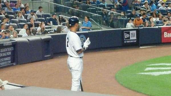 Yankee Stadium, secção: 017a, fila: 7, lugar: 3