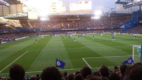 Stamford Bridge, secção: Matthew Harding Lower 13, fila: S, lugar: 0109