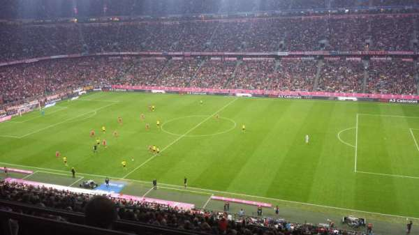 Allianz Arena, secção: BWIN Box, fila: Longe 36, lugar: 1