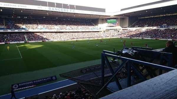 ibrox stadium, secção: Bill Struth Main Front, fila: a, lugar: 243