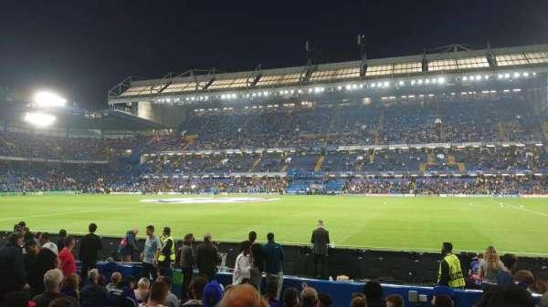 Stamford Bridge, secção: West Stand Lower, fila: 11, lugar: 51