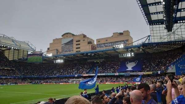Stamford Bridge, secção: West Stand Lower, fila: 6, lugar: 147