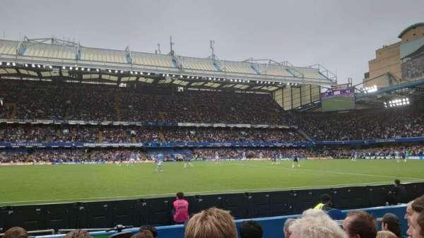 Stamford Bridge, secção: West Stand Lower, fila: 6, lugar: 6