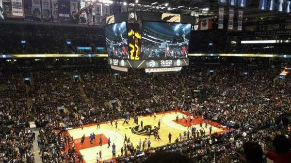 Scotiabank Arena, secção: 323, fila: 3, lugar: 1