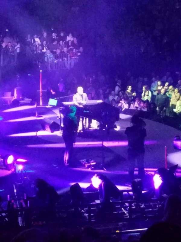 Madison Square Garden, secção: 114, fila: 16, lugar: 18
