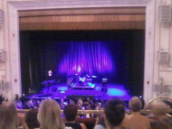 Wilbur Theatre, secção: Mezz, fila: E, lugar: 103