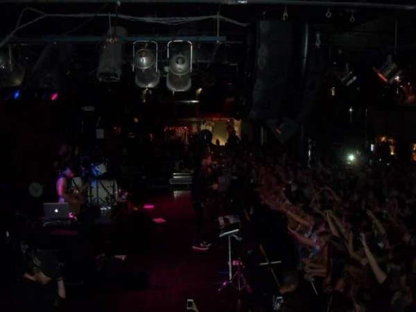 Paradise Rock Club, secção: Balcony, fila: GA