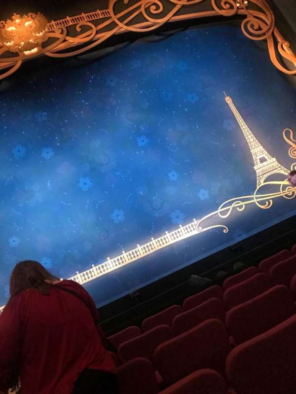 Broadhurst Theatre, secção: Orchestra C, fila: F, lugar: 107