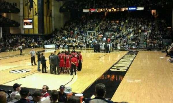 Memorial Gymnasium (Vanderbilt), secção: F, fila: 7, lugar: 10