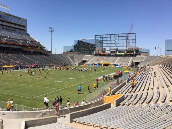 Sun Devil Stadium, secção: 36, fila: 25, lugar: 9