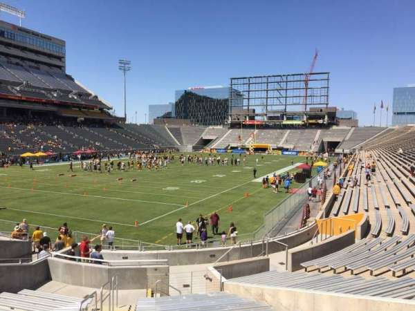 Sun Devil Stadium, secção: 37, fila: 25, lugar: 10
