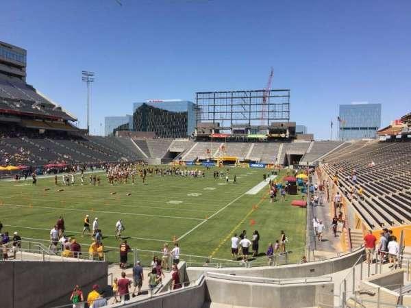 Sun Devil Stadium, secção: 38, fila: 25, lugar: 12
