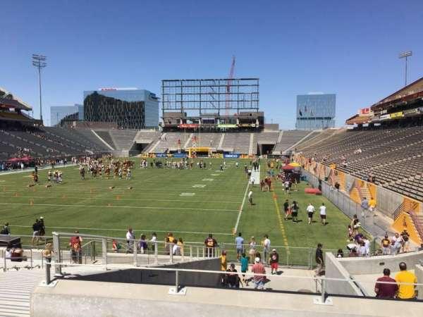 Sun Devil Stadium, secção: 39, fila: 25, lugar: 12