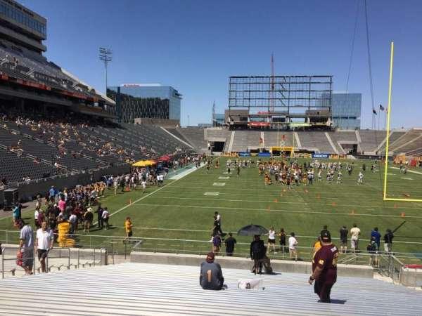 Sun Devil Stadium, secção: 42, fila: 25, lugar: 12
