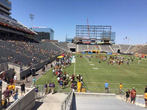 Sun Devil Stadium, secção: 43, fila: 25, lugar: 12