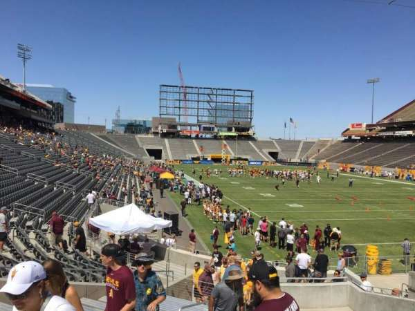 Sun Devil Stadium, secção: 44, fila: 25, lugar: 12