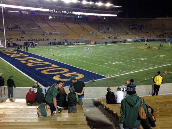 California Memorial Stadium, secção: P, fila: 17, lugar: 1,2