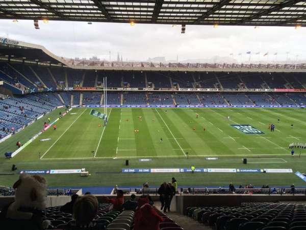 Murrayfield Stadium, secção: W32, fila: LL, lugar: 10