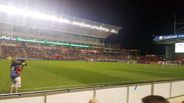 SeatGeek Stadium, secção: 109, fila: 2, lugar: 24