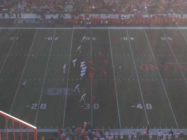 Maryland Stadium, secção: 305, fila: O, lugar: 3