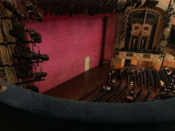 Shubert Theatre, secção: BALC, fila: B, lugar: 27