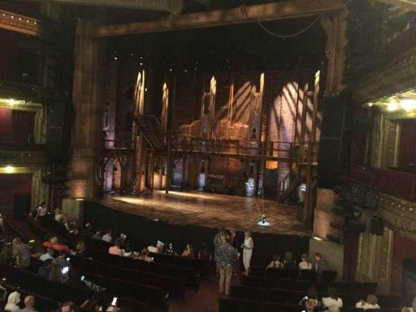 CIBC Theatre, secção: DRCR-R, fila: A, lugar: 2