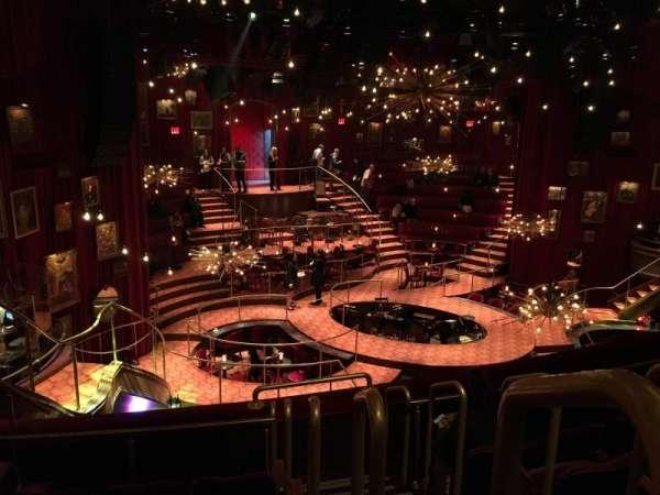 Imperial Theatre, secção: Front Mezzanine 3, fila: E, lugar: 1