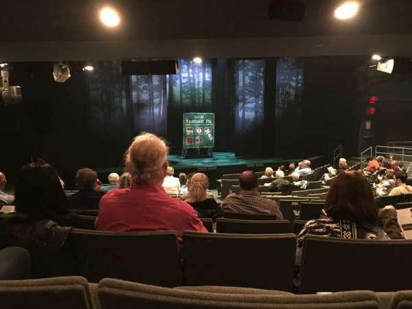 Laura Pels Theatre, secção: ORCH, fila: P, lugar: 9
