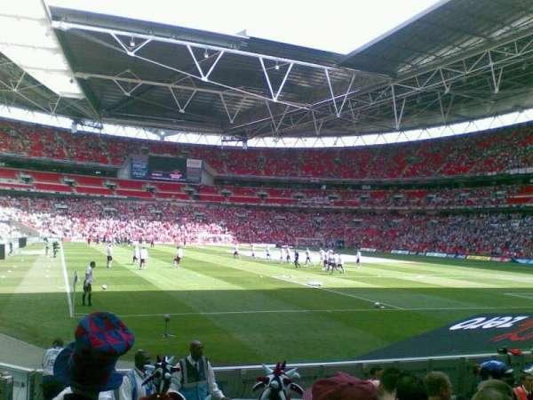 Wembley Stadium, secção: 137, fila: 9, lugar: 90