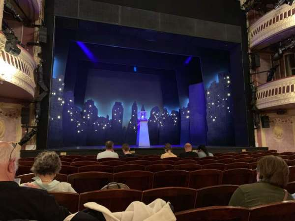 Criterion Theatre, secção: Stalls, fila: J, lugar: 17