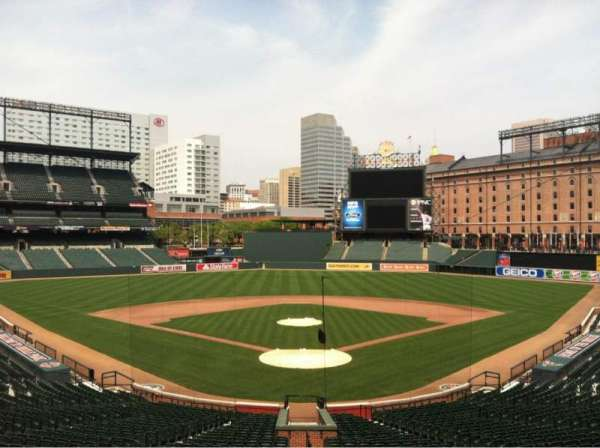 Oriole Park at Camden Yards, secção: Press box