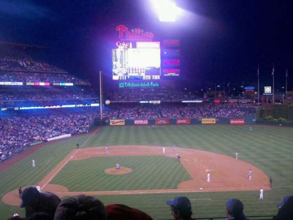 Citizens Bank Park, secção: 216, fila: 5, lugar: 17