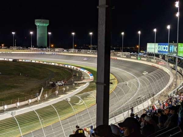 Charlotte Motor Speedway, secção: GNS CC, fila: 26, lugar: 1
